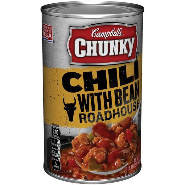 Campbell's Roadhouse with Bean  Chili