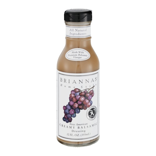 Brianna's New American Creamy Balsamic Dressing