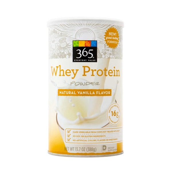 365 Vanilla Whey Protein Powder