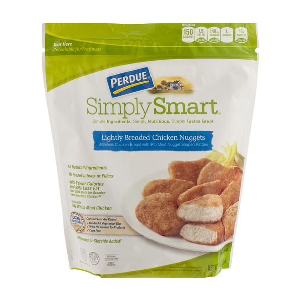 Perdue Predue Simply Smart Lightly Breaded Chicken Nuggets