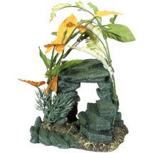Aqua Culture Medium Rock Aquarium Ornament, Assorted item (Style & Color May Vary)