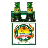 Reed's Ginger Brew Premium Ginger Brew All Natural Jamaican Style Ginger Ale