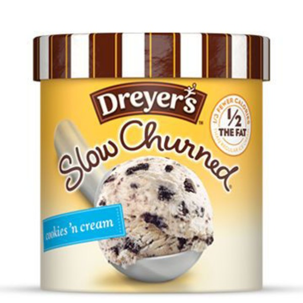 Edy's Slow Churned Light Ice Cream, Cookies n' Cream