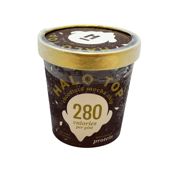 Halo Top Creamery Mocha Chip