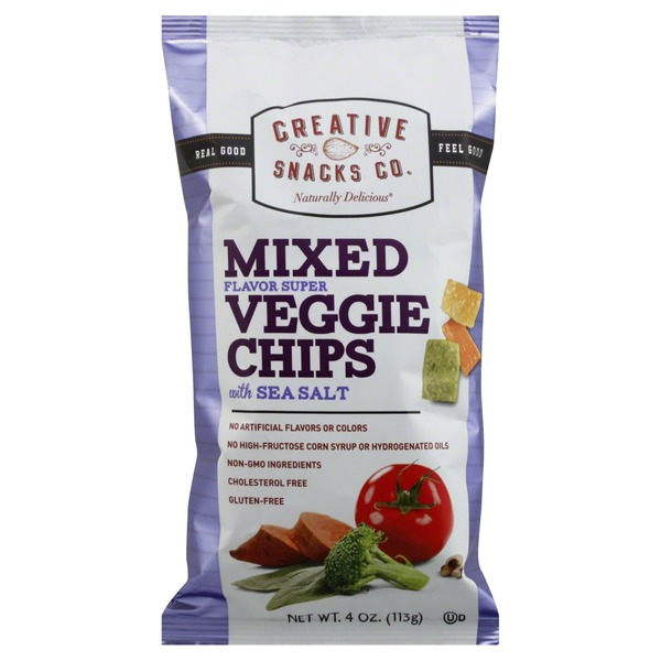 Creative Snacks Co. Mixed Veggie Chips with Sea Salt