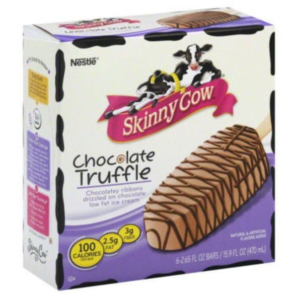 Skinny Cow Chocolate Truffle Ice Cream Bars