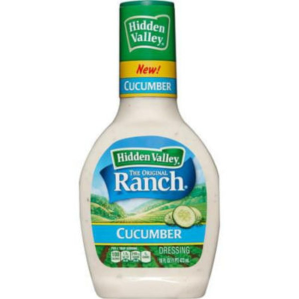 Hidden Valley Ranch Dressing Cucumber