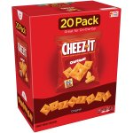Cheez-It Baked Snack Crackers, Original, 1 Oz. Pk, 20 Ct