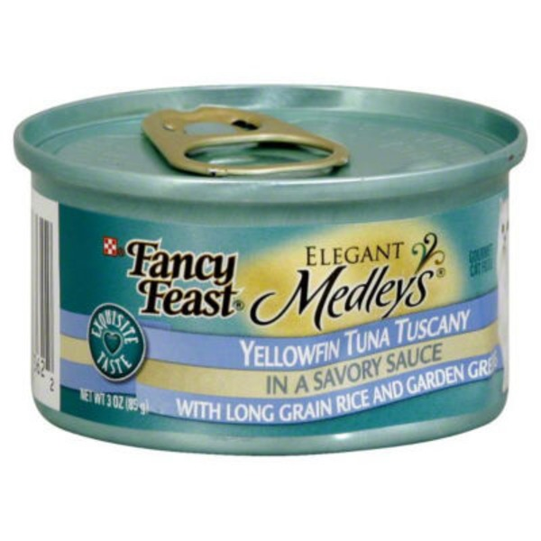 Fancy Feast Medleys Tuna Tuscany Cat Food