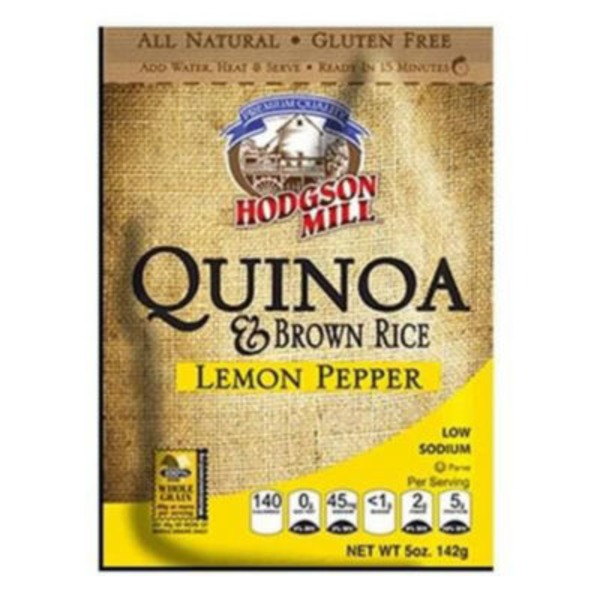 Hodgson Mill Lemon Pepper Quinoa & Brown Rice