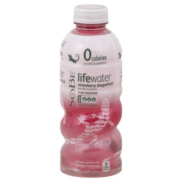 SoBe Strawberry Dragonfruit Flavored Water
