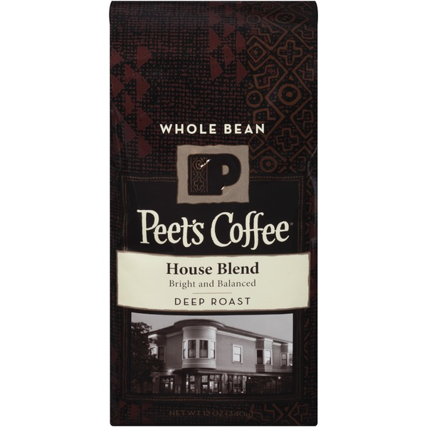 Peet's Coffee & Tea House Blend Deep Roast Whole Bean Coffee
