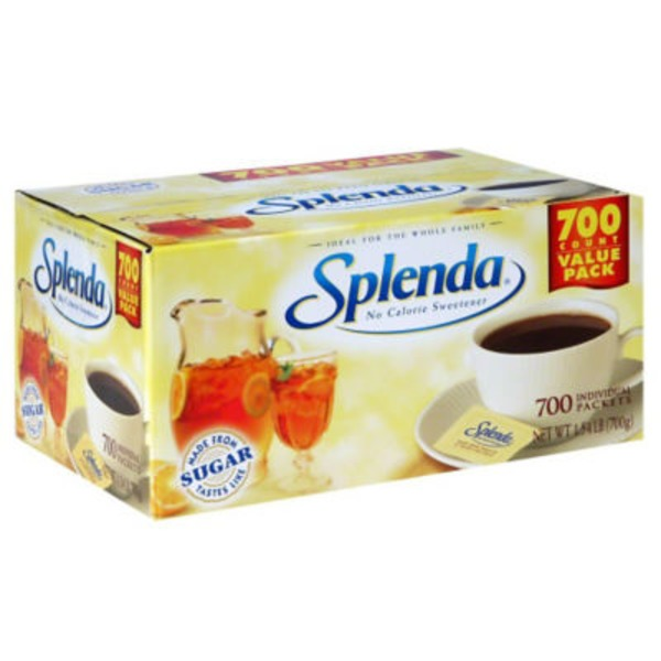 Splenda® Packets Posted 5/7/2014 No Calorie Sweetener