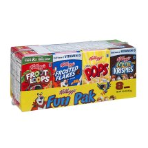 Kellogg's Variety Fun Pack Cereal 8 Ct