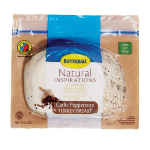 Butterball Natural Ground Pepper Turkey