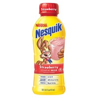 Nestle Nesquik Strawberry Flavored Low Fat Milk 1%