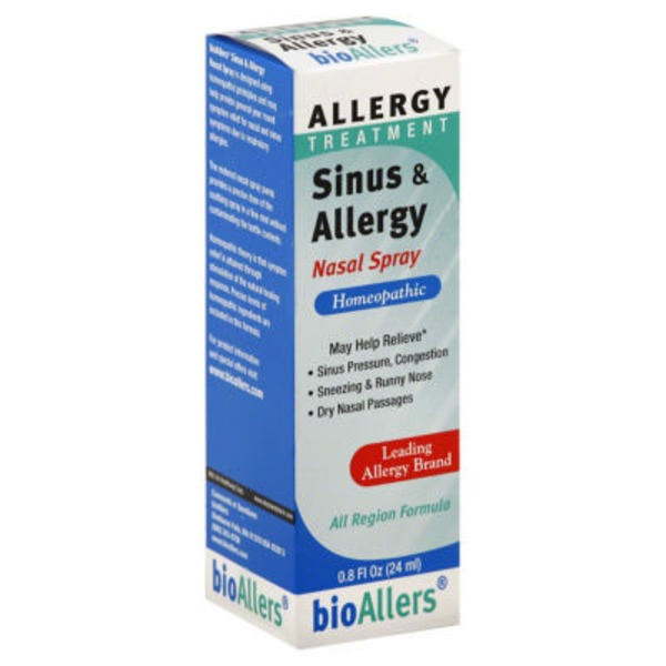 bioAllers Sinus & Allergy Nasal Spray