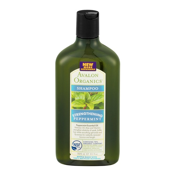 Avalon Organics Shampoo Strengthening Peppermint