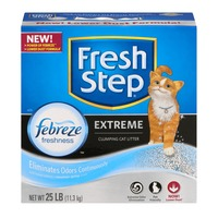 Fresh Step Extreme Clumping Cat Litter Febreze Freshness