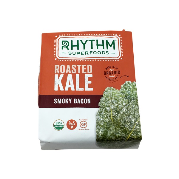 Rhythm Superfoods Roasted Kale Smoky Bacon