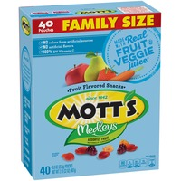 Mott's Medleys Assorted Fruit Fruit Flavored Snacks