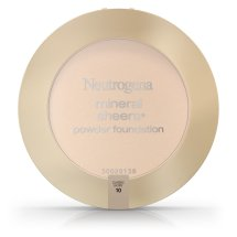 Neutrogena Mineral Sheers Compact Powder Foundation Spf 20, Classic Ivory 10, .34 Oz.