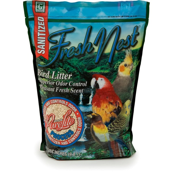 Green Pet Fresh Nest With The Pure Lite Process Bird Litter