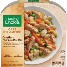 Healthy Choice Cafe Steamers Crustless Chicken Pot Pie, 9.6 ounces