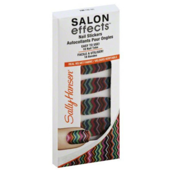 Sally Hansen Nail Stickers, Fab-Ric 140