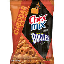 Chex Mix and Bugles Cheddar Hot Buffalo Snack Mix