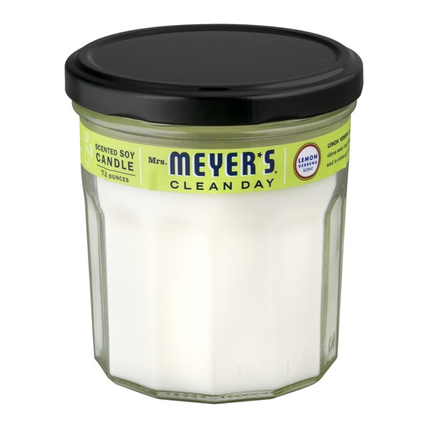 Mrs. Meyer's Clean Day Scented Soy Candle Lemon Verbena Scent