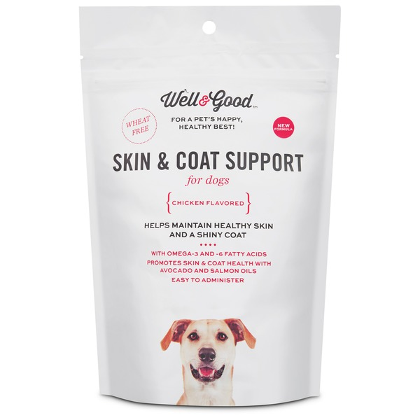 Well & Good Skin & Coat Support for Dogs