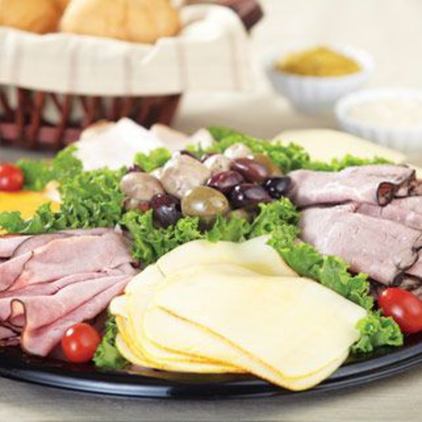 H-E-B Premium Deli Meat And Cheese Tray (Large Serves 20-25)