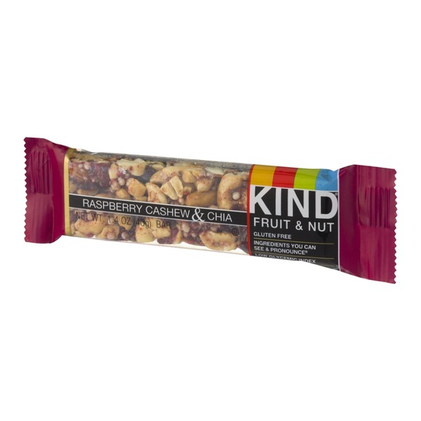 KIND Fruit & Nut Bar Raspberry Cashew & Chia
