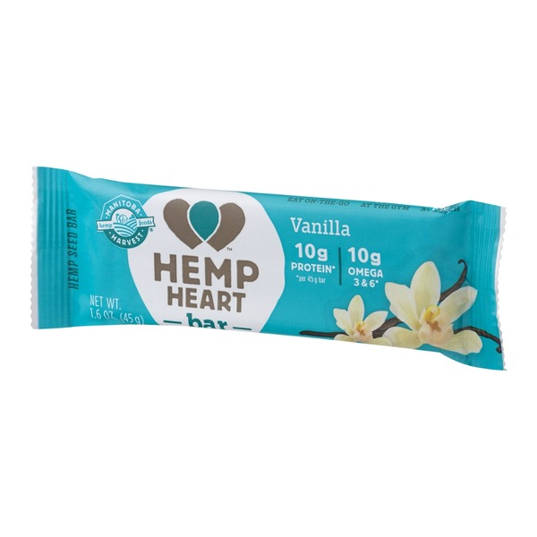 Manitoba Harvest Manitoba Hemp Heart Bar Vanilla