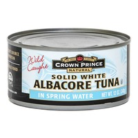 Crown Prince Natural Solid White Albacore Tuna in Spring Water