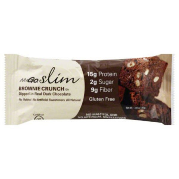NuGo slim Protein Bar Brownie Crunch