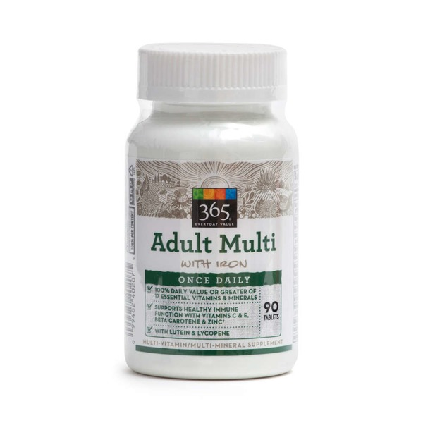 365 Adult Multi Vitamin Tablets