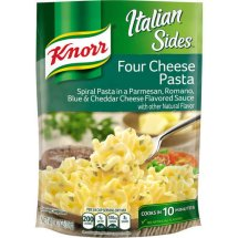 Knorr Four Cheese Pasta Side Dish 4.1 oz