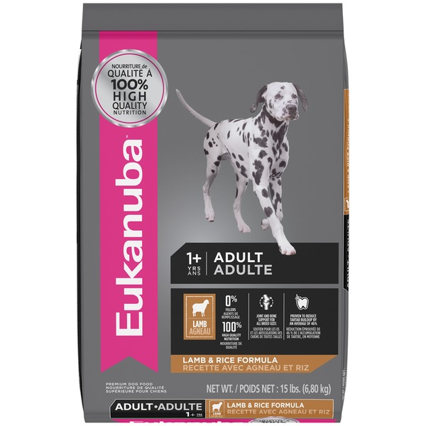 Eukanuba Adult 1+ Yrs Lamb & Rice Formula Dog Food