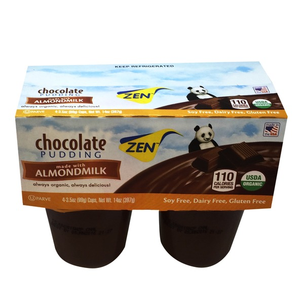 Zen Soy Organic Chocolate Almondmilk Pudding