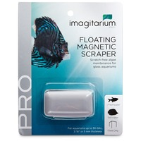 Imagitarium Floating Magnetic Scraper For Glass Aquariums