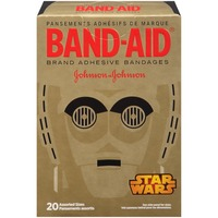 Band Aid® Brand Adhesive Bandages Star Wars Decorated