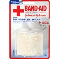 Band Aid® Brand Of First Aid Products J&J Band-Aid FA 2 In. X 2.5 Yd Secure-Flex Wrap First Aid Wraps Secure-Flex