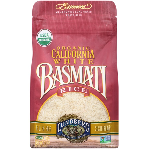 Lundberg Family Farms OG California Wht Basmati Organic 2 lb Rice