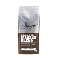 Allegro Coffee Organic Breakfast Blend Whole Bean Coffee