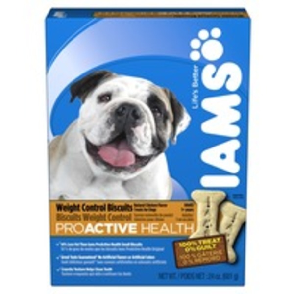 Iams ProActive Health Adult Dog Weight Control Biscuits 24 Oz