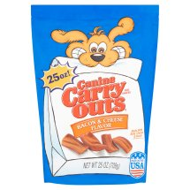 Canine Carry Outs Bacon and Cheese Flavor Dog Treats, 25 Oz.