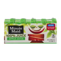 Minute Maid 100% Fruit Juice, Apple, 6 Fl Oz, 10 Count