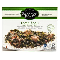 Saffron Road Lamb Saag With Basmati Rice
